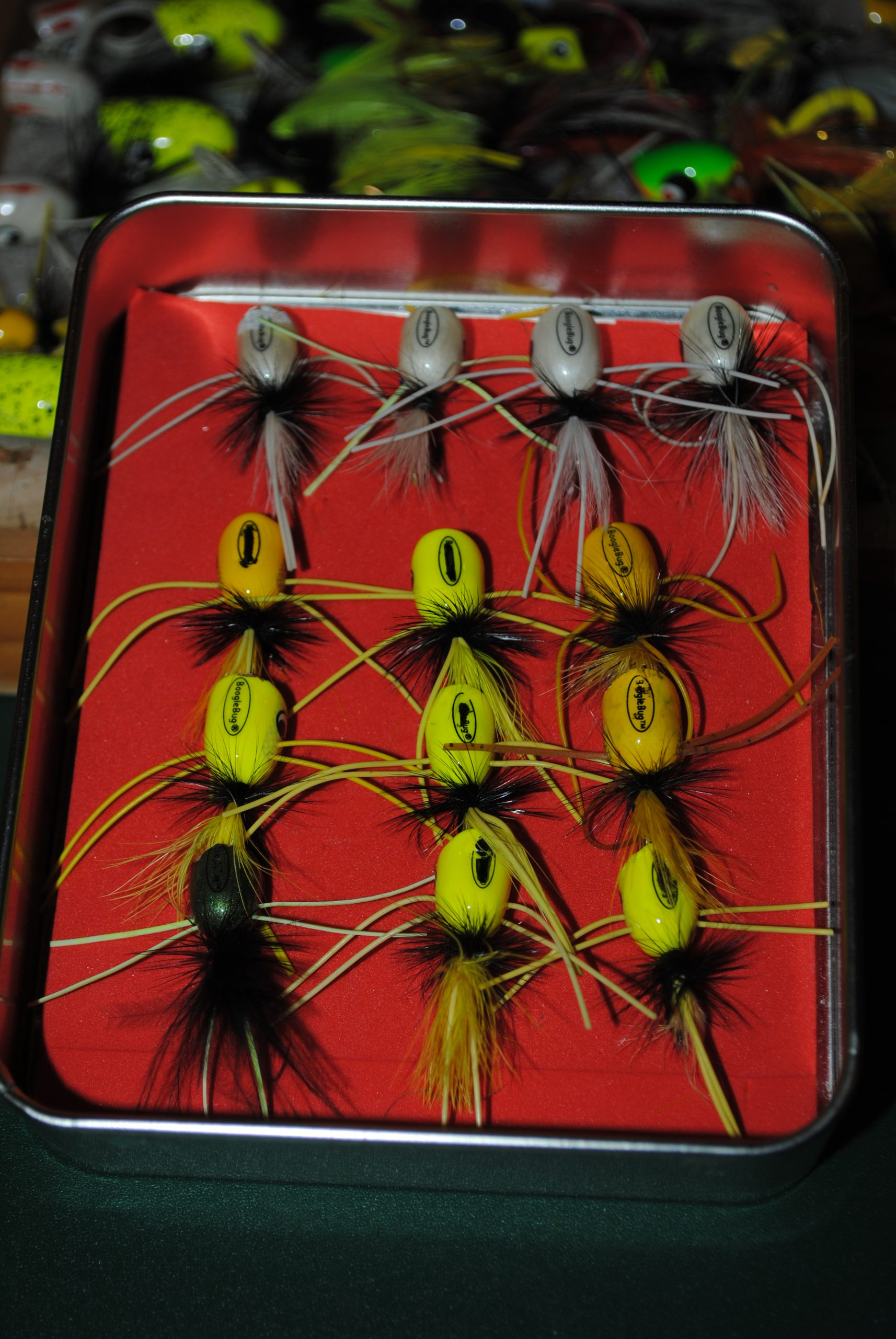 popping bugs for bream