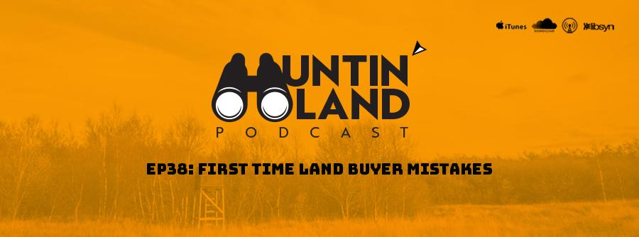 first time land buyer - land financing down payment on rural and hunting land loans