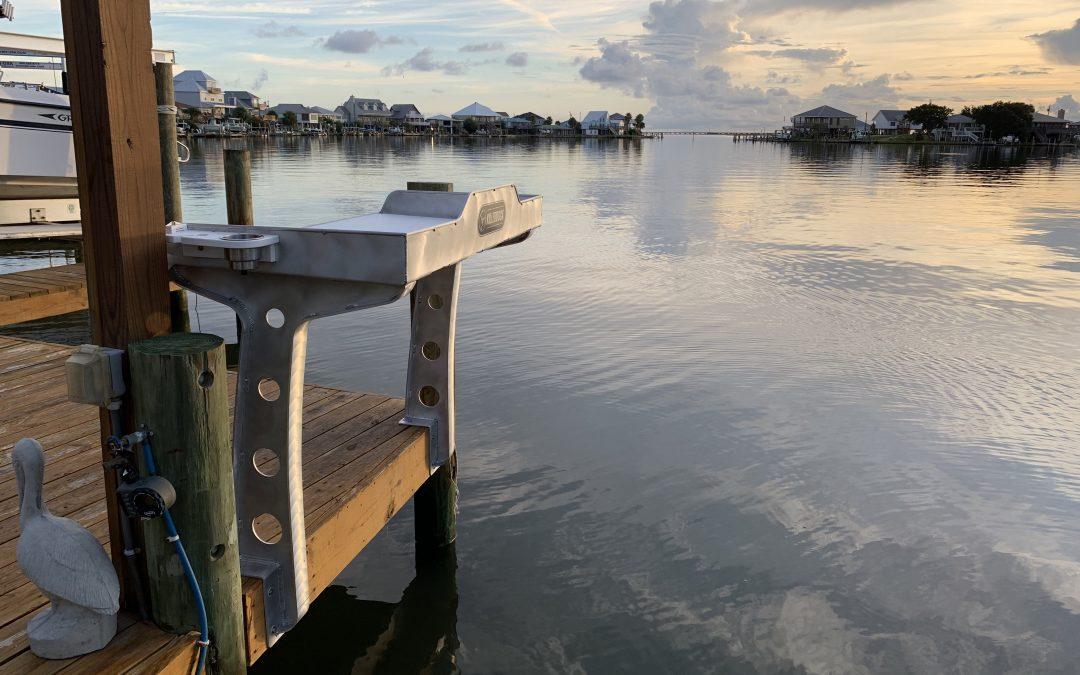 Custom Dock Fish Cleaning Station Designs