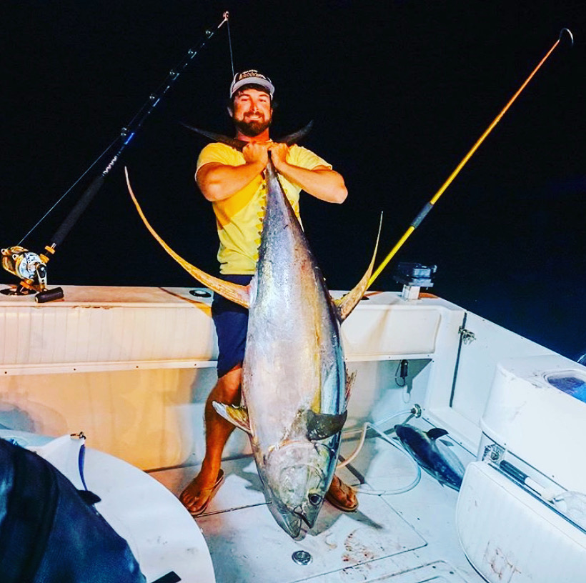 how to catch yellowfin tuna in the gulf of mexico
