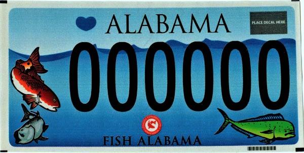 Alabama personalized custom Car Tags and tag renewal
