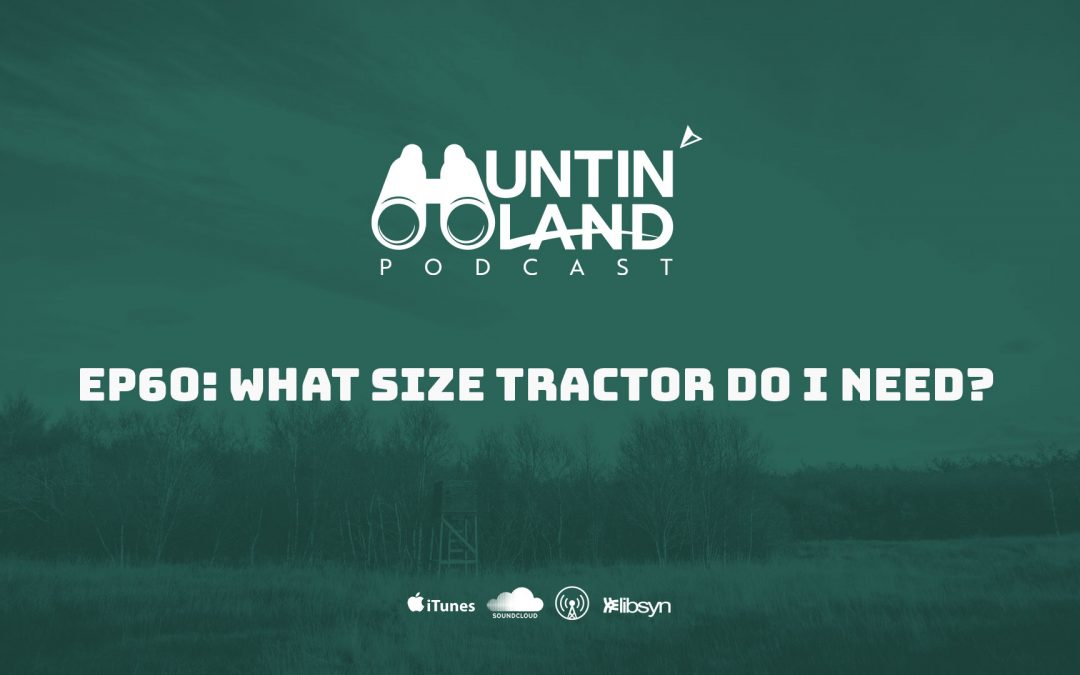 What Size Tractor Do I Need?