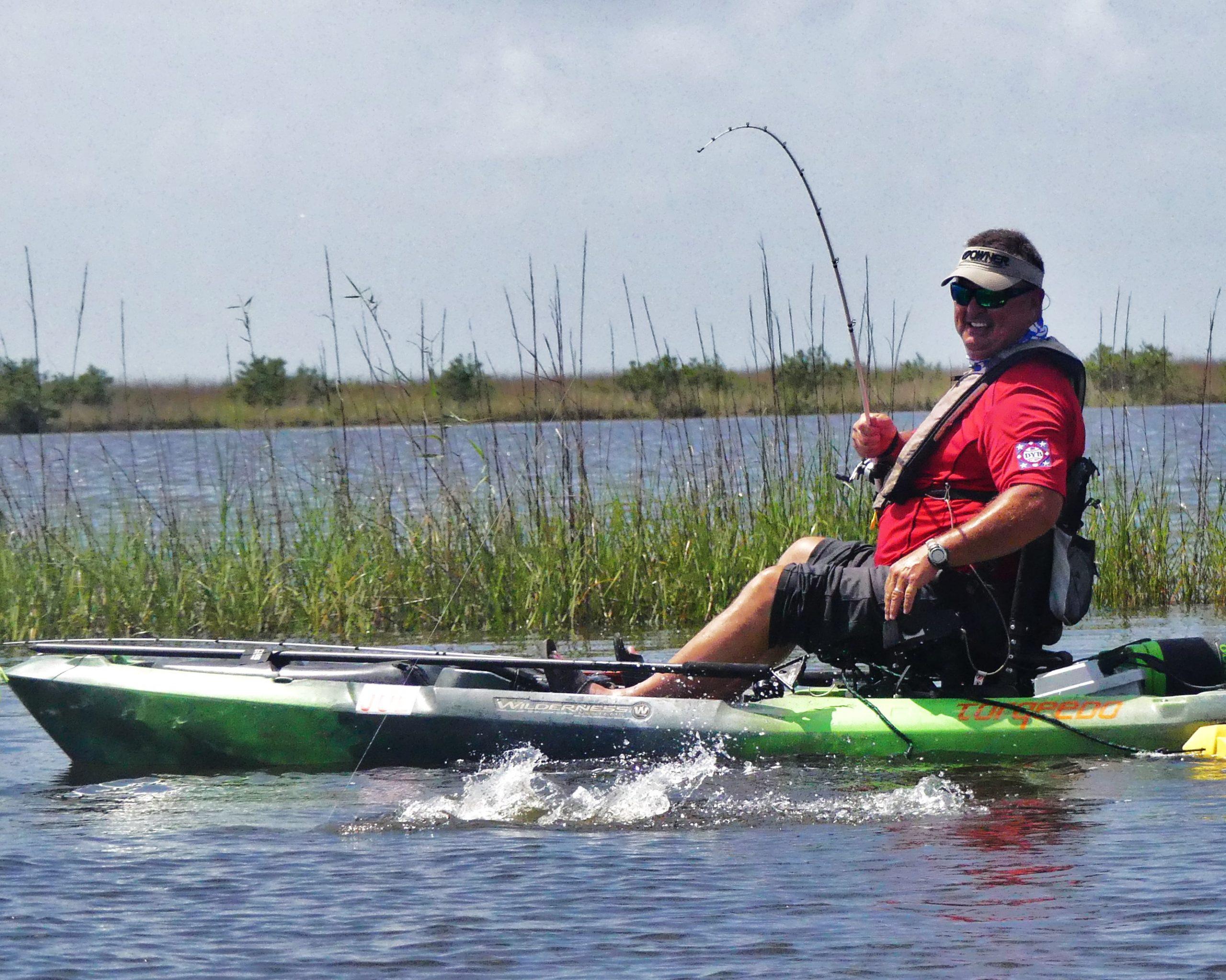 beginner fishing kayak setup