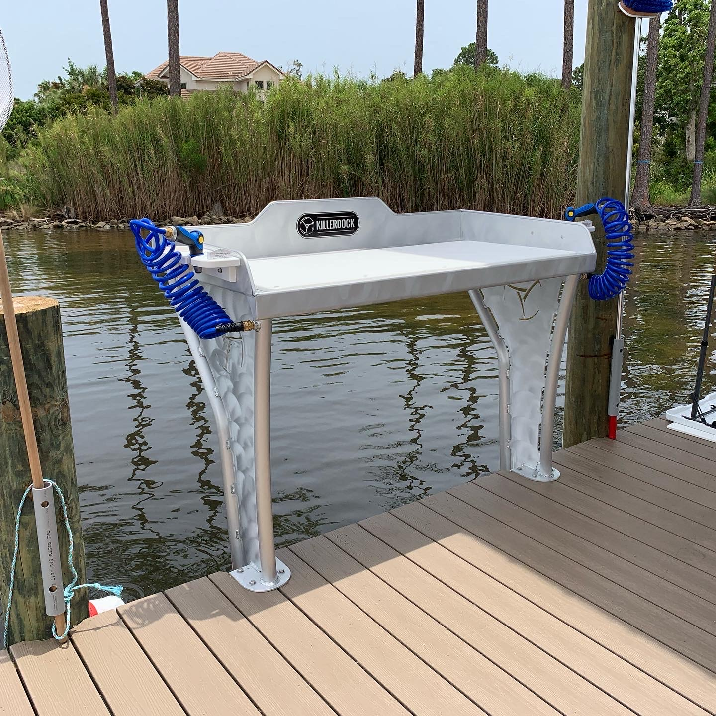 best fish cleaning table for dock
