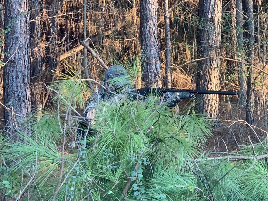 natural turkey hunting blind
