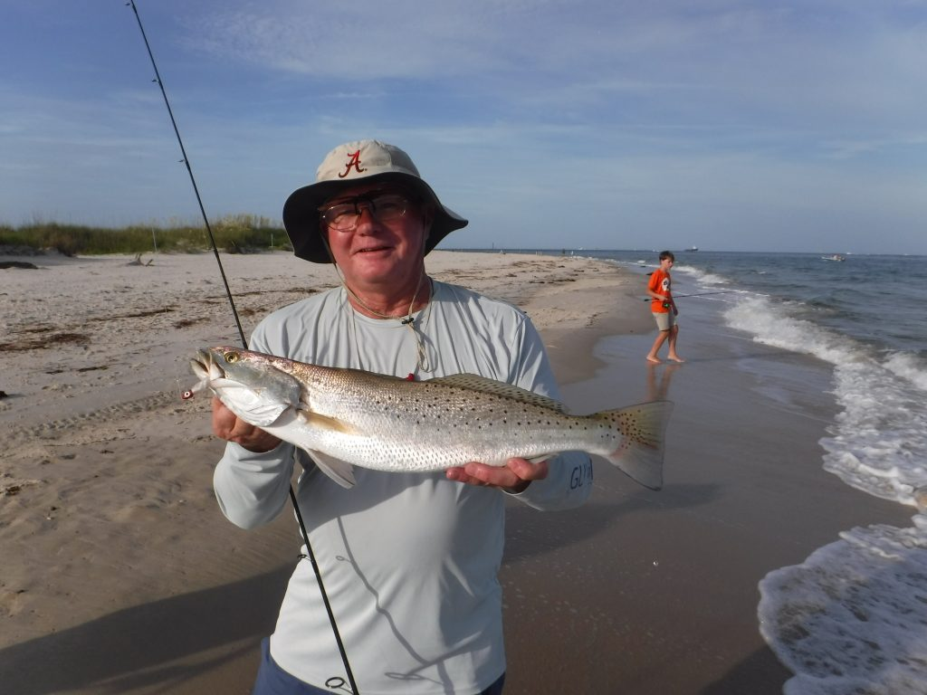 surf fish for speckled trout