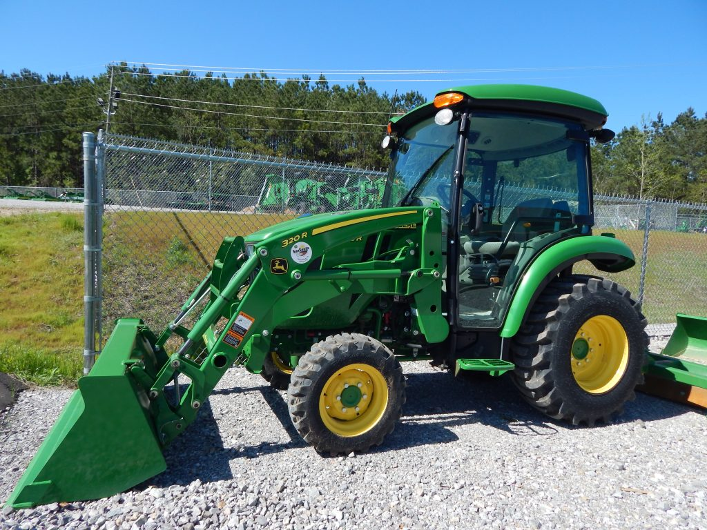 small compact tractor