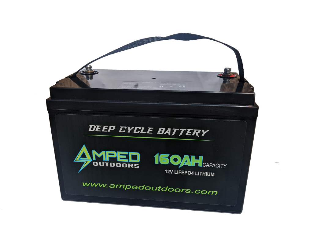 Amped Outdoors 160Ah 12V Deep Cycle Battery
