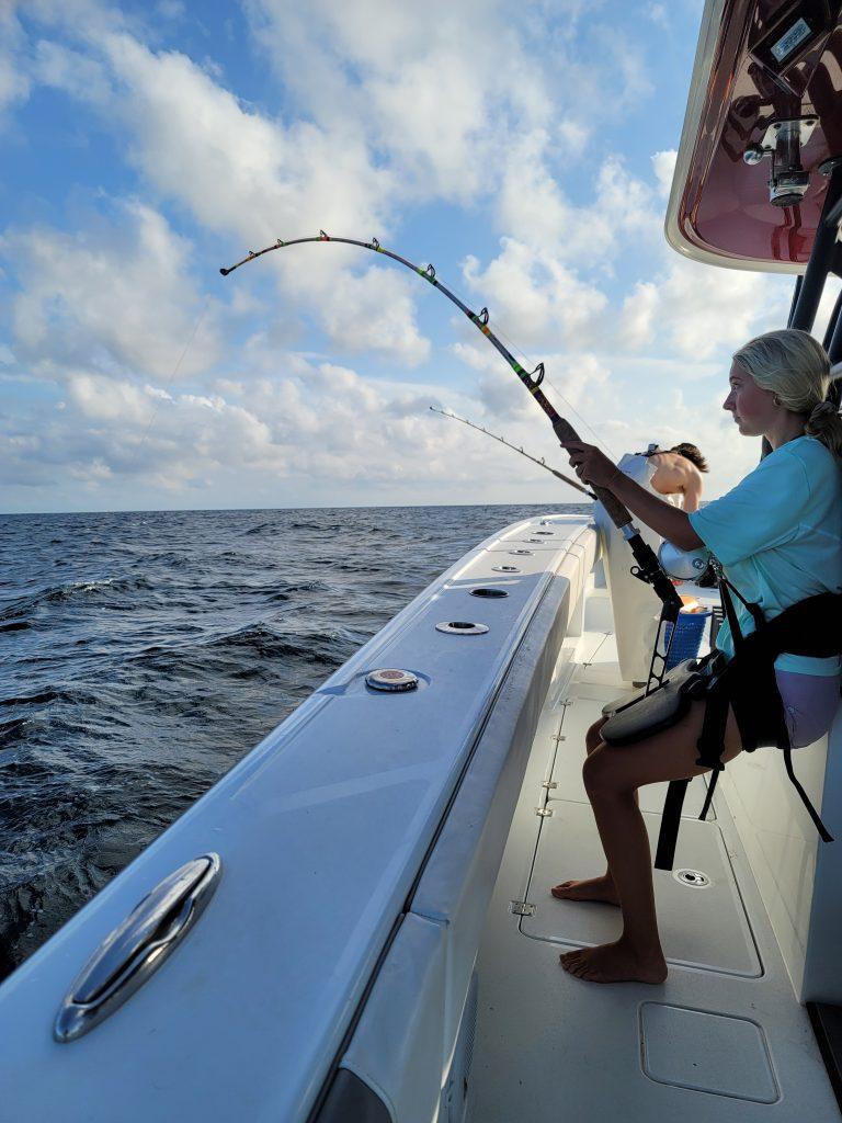 catching swordfish
