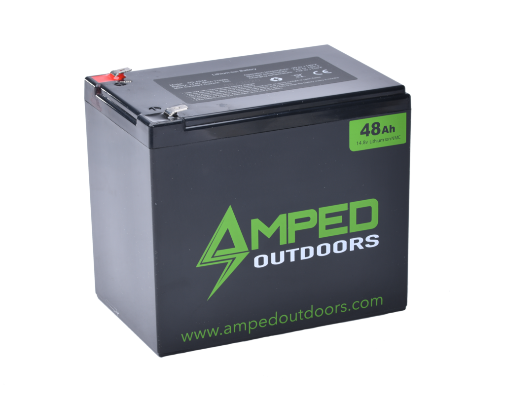 Amped Outdoors 48Ah 14.8V Battery