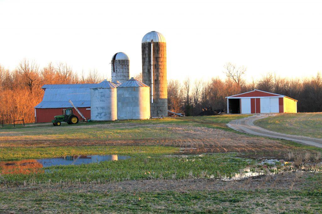 barn on hunting property