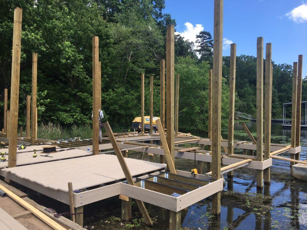 new dock building materials