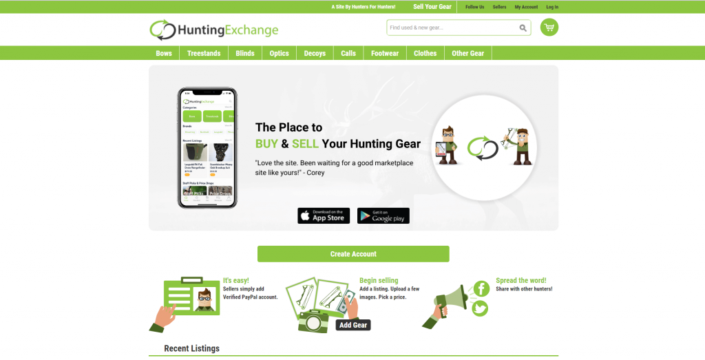 hunting gear for sale