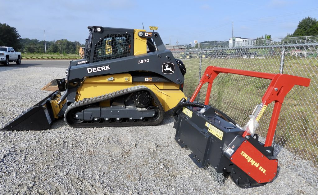 bulldozer for clearing land